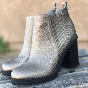 Silver Sam&Libby Ankle Boots